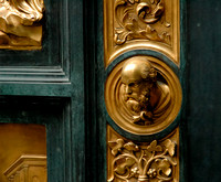 Detail of the Baptistry Doors in Florence