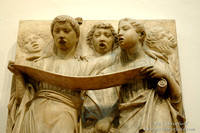 Choir panel in the Duomo Museum - Florence