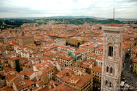 Rooftops of Florence from the Dome of the Duomo