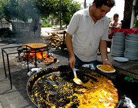 Paella, coast of Spain
